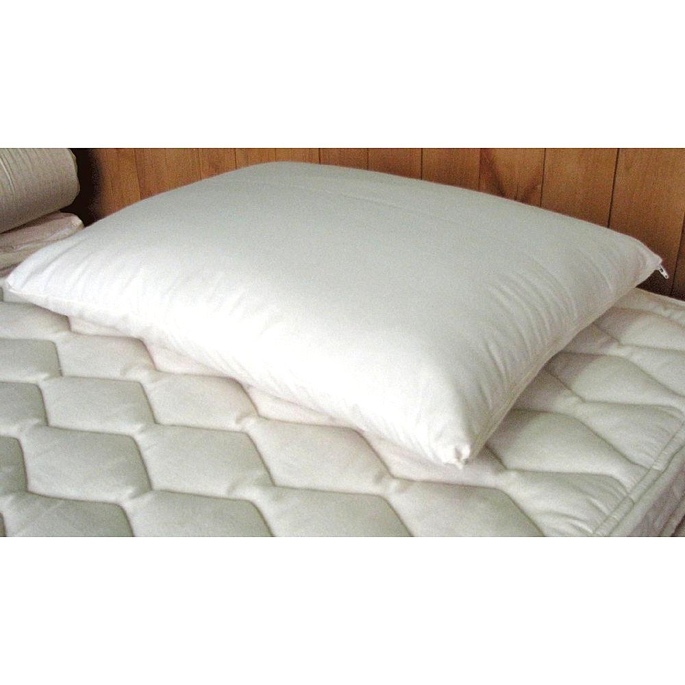 Bed - Pillow Best Decorative Sleeping Pillow For Comfortable Healthy Nap On Living Room Couch, Sofa, Bedroom Mattress At Home. White Wool Wrapped Latex Pillow. Cute, Soft, Cozy Bedding.