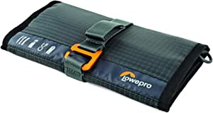 Lowepro Wrap Gearup Wrap. Compact Travel Organizer for Phone Cables, Adapters, USB Memory Sticks and Small Devices, Dark Grey (Lp37140-Pww)