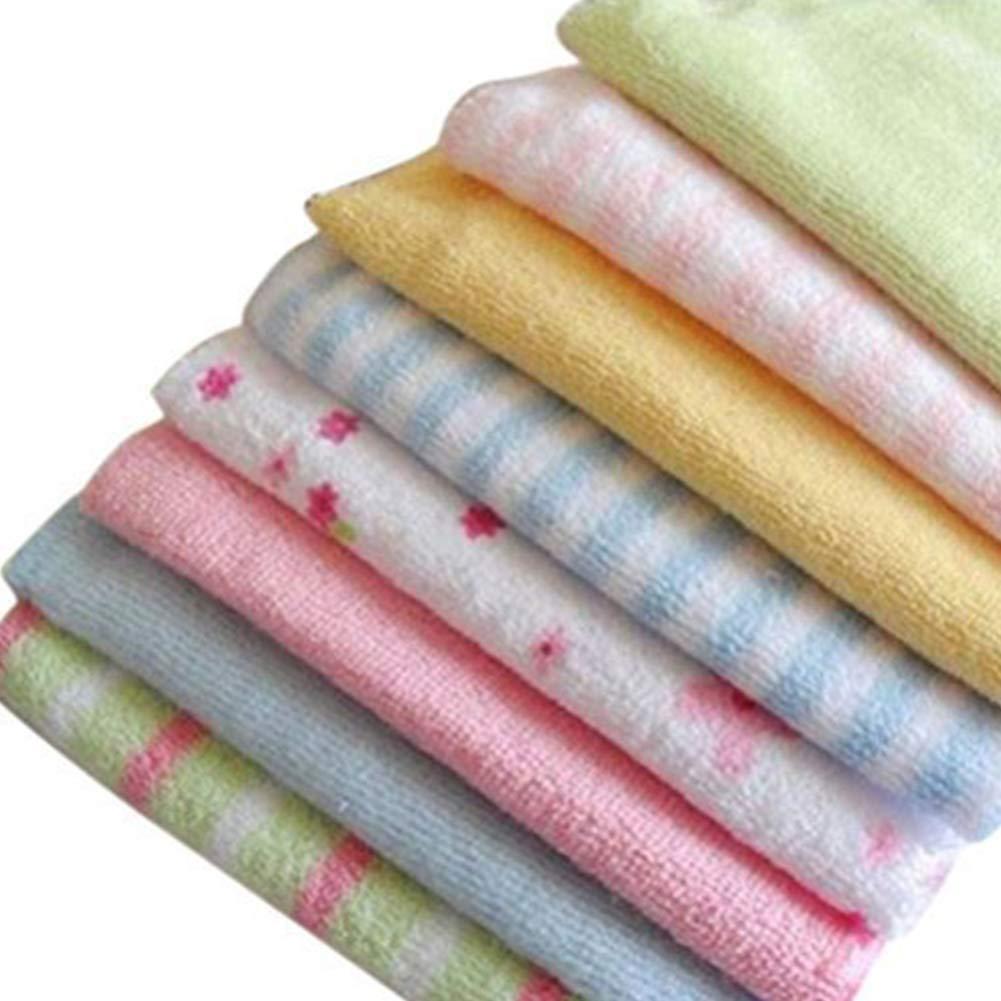 mxdmai Bebé 8pcs reemplazo de la cara del bebé recién nacido Lavadora suave mano toallas de algodón duradero Wipe Lavadora de infantil: Amazon.es: Bebé