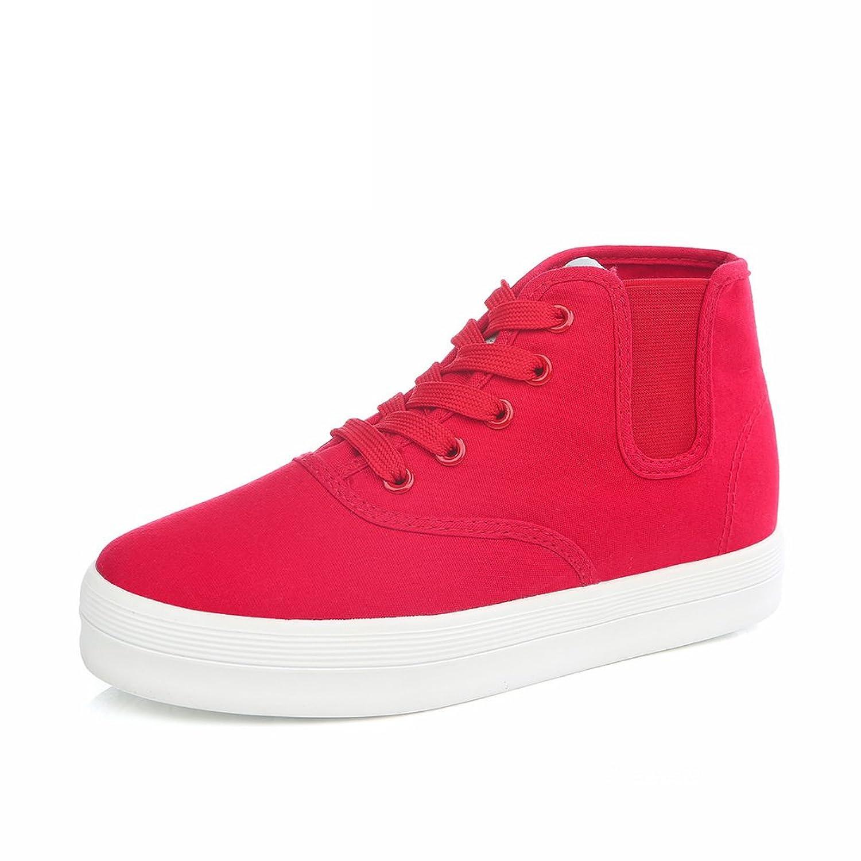 bfbbe36fc En venta Verano zapatos de suela gruesos de bagatela Zapatillas de deporte  de color sólido