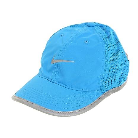 Amazon.com  Nike Run Knit Mesh Cap Photo Blue Reflective Silver Reflective  Silver Caps  Sports   Outdoors 673b8fb1603