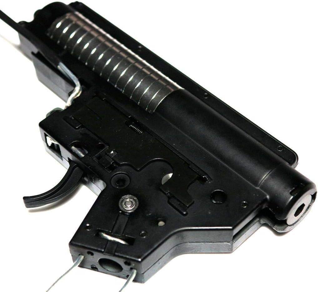 Accesorios de Repuesto para Airsoft Army Force de 8 mm Completo QD M4 M16 Series V2 Caja de Cambios versión 2 Front Line 18:1