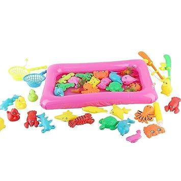 Juguete de Pesca Juego de juguetes de pesca for niños for la hora ...