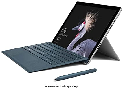 "2019 Microsoft Surface Pro 5 12 3"" Business TouchScreen Tablet Laptop  Computer, Intel Core i5-7300U Up to 3 5GHz, 8GB RAM, 256GB SSD, 802 11AC  Wifi,"