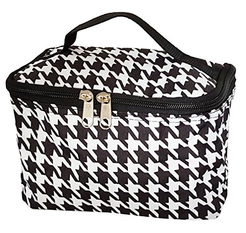 Fashion Print Small Cosmetic Houndstooth