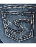 Silver Jeans Co Women's Suki Curvy Fit Mid Rise