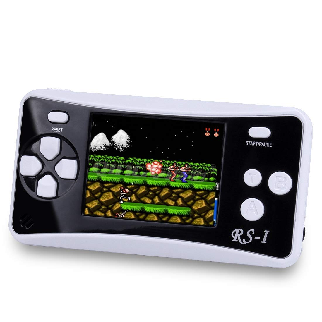 SKYRC Handheld Game Console for Kids,Classic Retro Game Player with 2.5'' LCD 8-Bit Portable Video Games Compatible with PAL AAD NTSC TV ,152 in 1 Classic Games -- (Black) by SKYRC (Image #1)