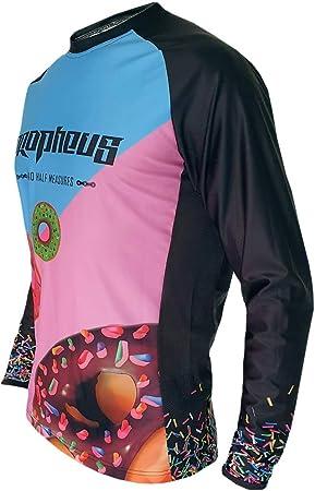 PROPHEUS MTB//MX Kids Kinder Jersey Intergalactic Langarm Downhill Enduro und Motocross