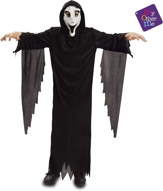 My Other Me - Disfraz de fantasma con máscara, para niños de 7-9 ...