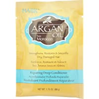 Hask Argan Oil From Morocco Repairing Deep Conditioner, Hair Treatment 1.75 oz ( Pack of 2)