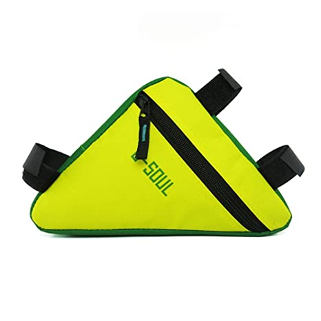 Waterproof Triangle Bicycle Frame Front Tube Bag Cycling Bike Pouch Holder