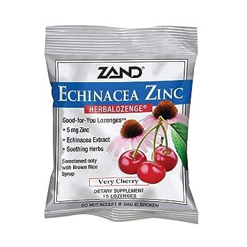 Amazon Com Zand Herbalozenge Cherry Echinacea Zinc 15ct Zinc