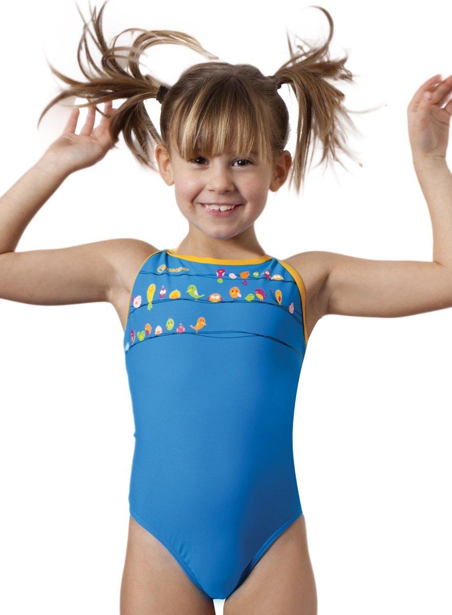 Okeo -BIRDY- Costume intero nuoto per bambina
