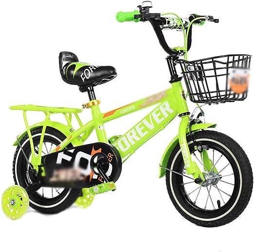 DT Bicicleta para niños 2-3-4-6-7-8-9-10 años Pedal del bebé ...
