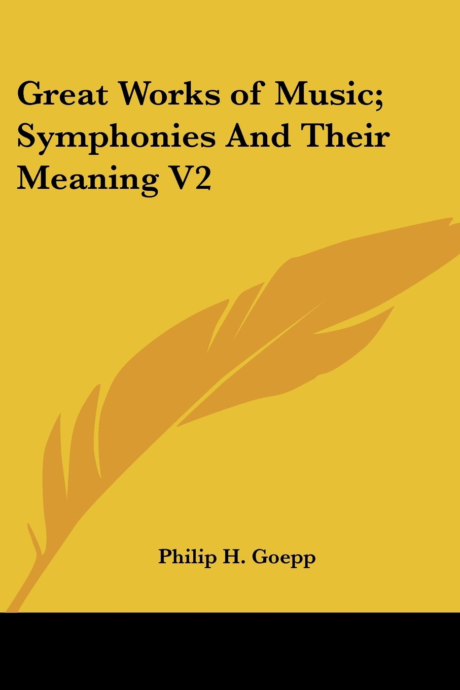 Download Great Works of Music; Symphonies And Their Meaning V2 pdf epub
