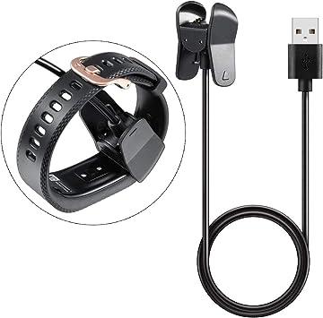 Amazon.com: 1 cargador para Garmin Vivosmart 3, cable de ...