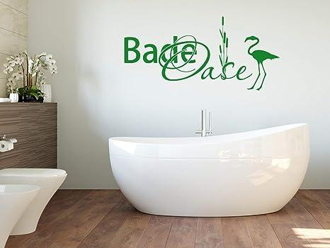 Grazdesign Fliesen Uberkleben Wellness Bereich Deko Badezimmer Bade Oase Wandtattoo Flamingo 83x40cm 054 Turkis Amazon De Kuche Haushalt