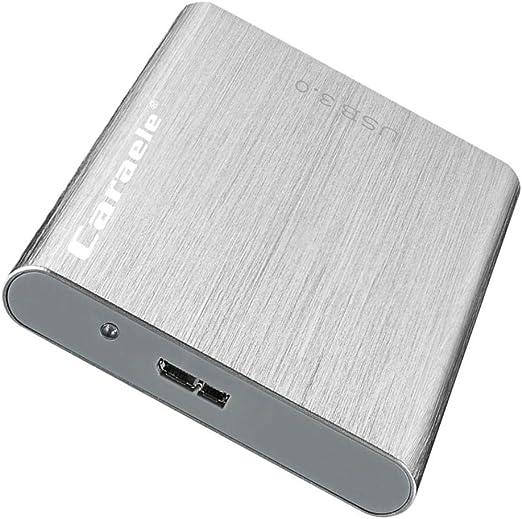 KESOTO ハードドライブ 外付け USB3.0 2.5インチ HDDエンクロージャー 金属製 ポータブル - 500GB