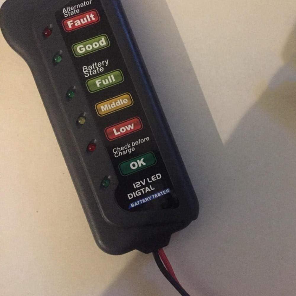 12v Autobatterie Und Lichtmaschinenprüfgerät Elektronik