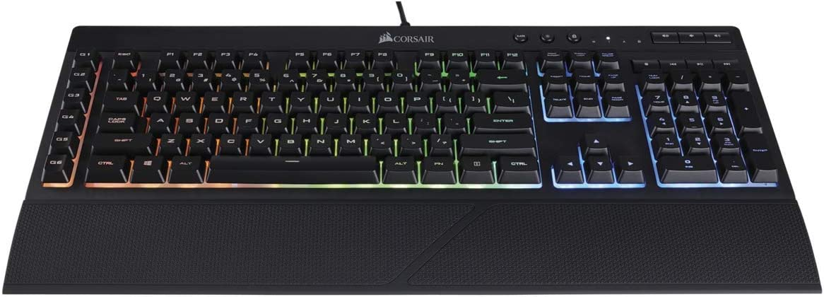 6 Dedicated Macro Keys IDS Home Corsair Gaming K55 RGB Gaming Keyboard