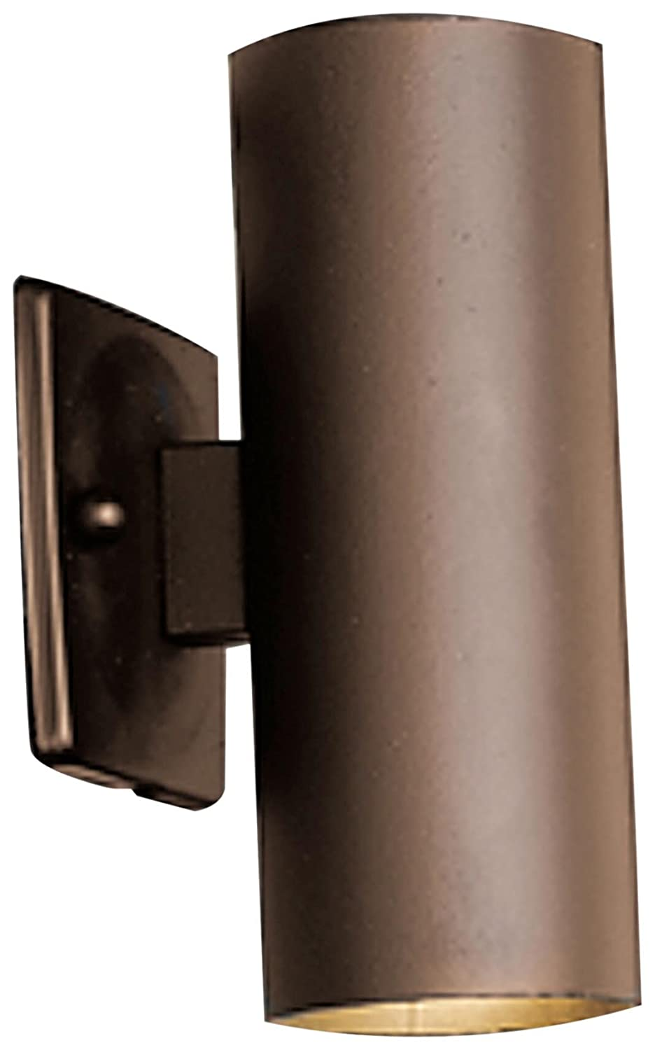Kichler 15079AZT, Landscape 12 Volt Low Volt Flood Landscape Accent Lighting Xenon, Bronze