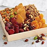 Afternoon Fruit Basket Delight - Same Day Gift Baskets Delivery - Fresh Fruit Baskets - Fruit Basket Delivery - Organic Fruit Baskets - Best Gift Baskets
