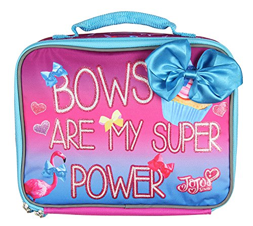 Jojo Lunch Box Soft Kit Insulated Cooler Siwa Bows Are My Super Power -