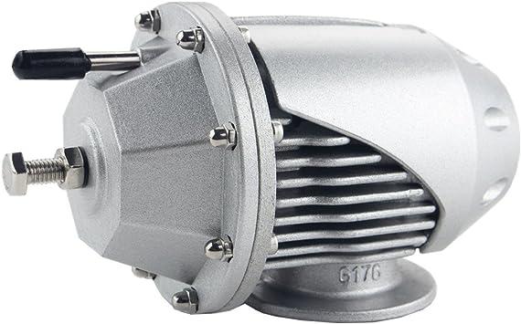 Black Dewhel Universal Adjustable Billet Aluminum Turbo SQV SSQV blow Off Valves BOV