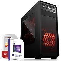 Multimedia Gaming PC AMD A10-7850K 4x4.0GHz|ASUS Board|16GB DDR3|120GB SSD+1000GB HDD|Radeon HD R7 HDMI|DVD-RW|USB 3.0|SATA3|Windows 10 Pro|Made in Germany|3 Jahre Garantie