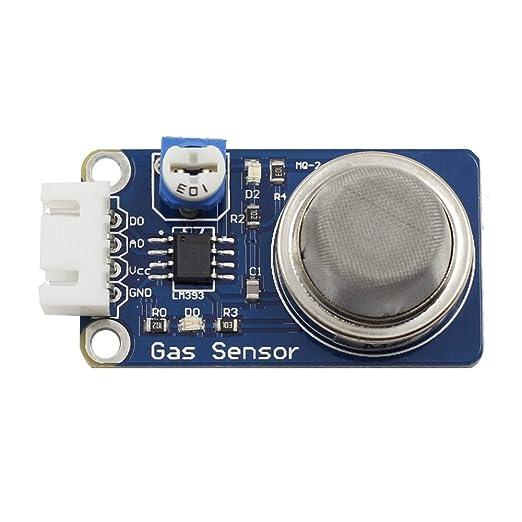 2 opinioni per SunFounder MQ-2 Gas Sensor Module for Arduino and Raspberry Pi