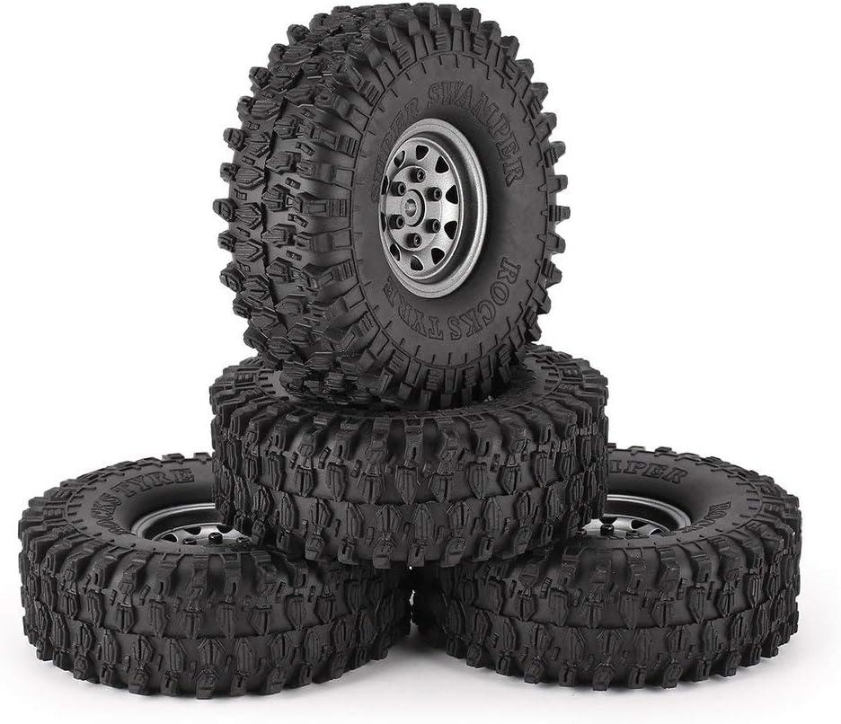 Tree-on-Life 4 Unids 1.9 Pulgadas 120mm Neumáticos de Goma ...