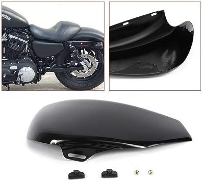 Left Side Battery Cover for Harley Sportster Iron 883 XL 1200 48 72 04-13 Gloss Black