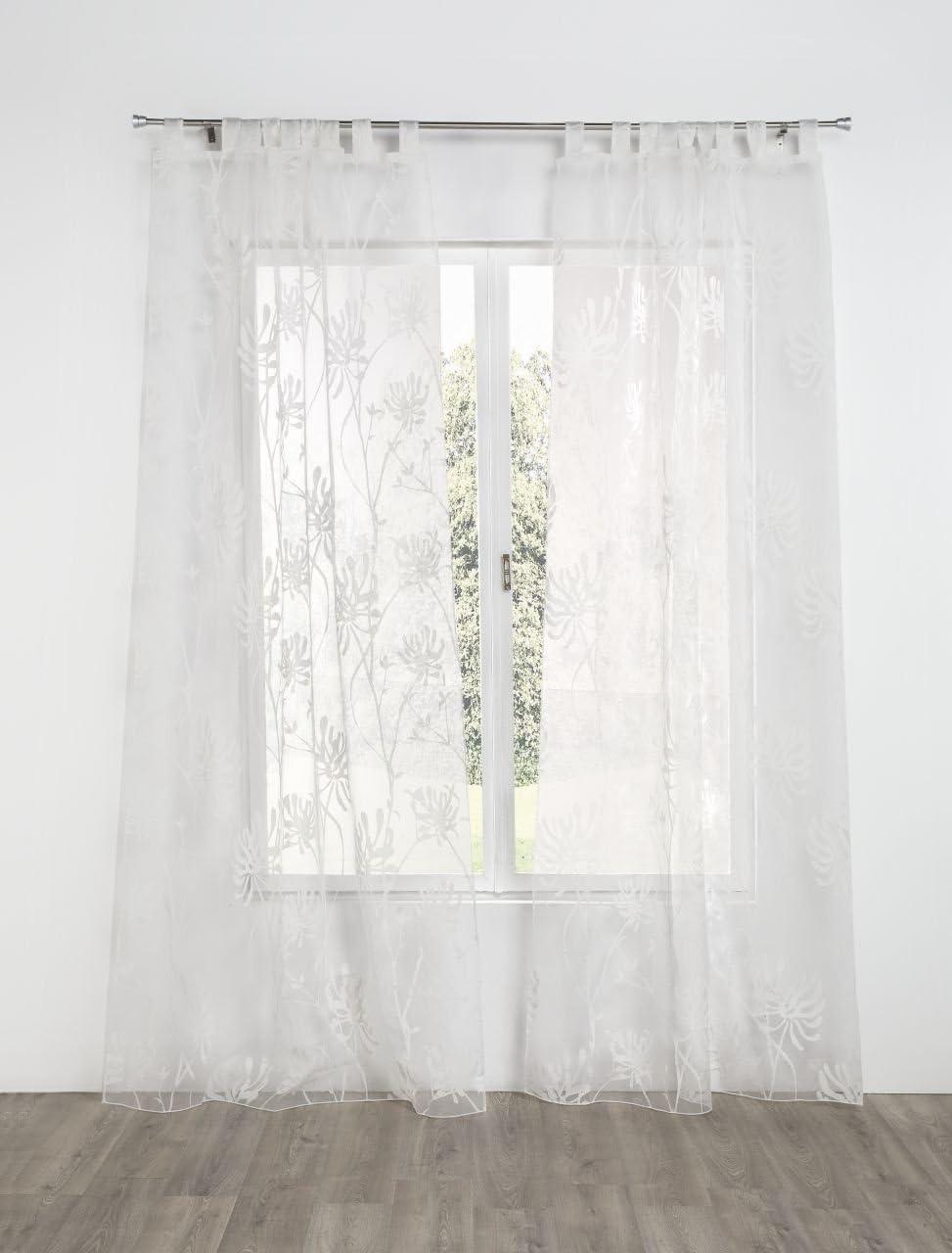Rioma Eneldo – Cortina visillo, 140 x 270 cm: Amazon.es: Hogar