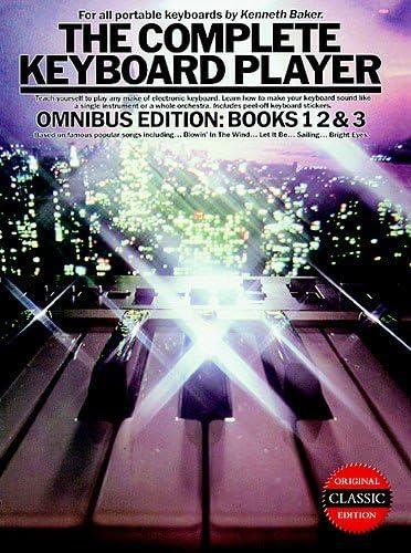 The Complete Keyboard Player: Omnibus Edition 1994 Edition. Partituras para Teclado(Diagramas)