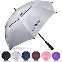 ZOMAKE Automatic Open Golf Umbrella 62/68 inch - Large Rain Umbrella Oversize Windproof Umbrella Double Canopy for Men