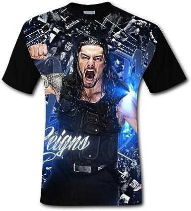 Roman Reigns One Versus All Authentic Mens Black T-Shirt