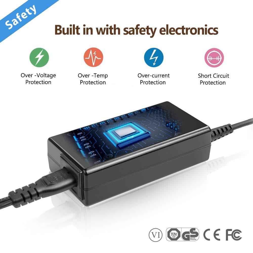 TAIFU 65W 19V 3,42A Cargador Portatil Asus VivoBook S500CA S500C S550CA S300 S400, Q500 Q400 Q300 Q301LA,V551LA V550 V500 V400CA,R500 R503U F500 ...