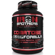 Natural Sleep Aid Formula - Non Habit Forming Supplement Sleeping Pills with Melatonin