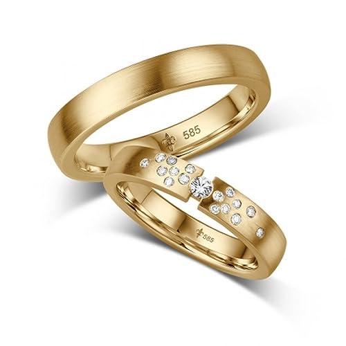 Anillos de boda, compromiso o amistad fabricados en titanio, incluyen circonitas y grabado láser