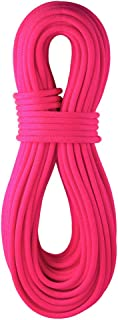 product image for BlueWater Ropes 9.7mm Lightning Pro Standard Dynamic Single Rope (Solid Neon Pink, 80M)