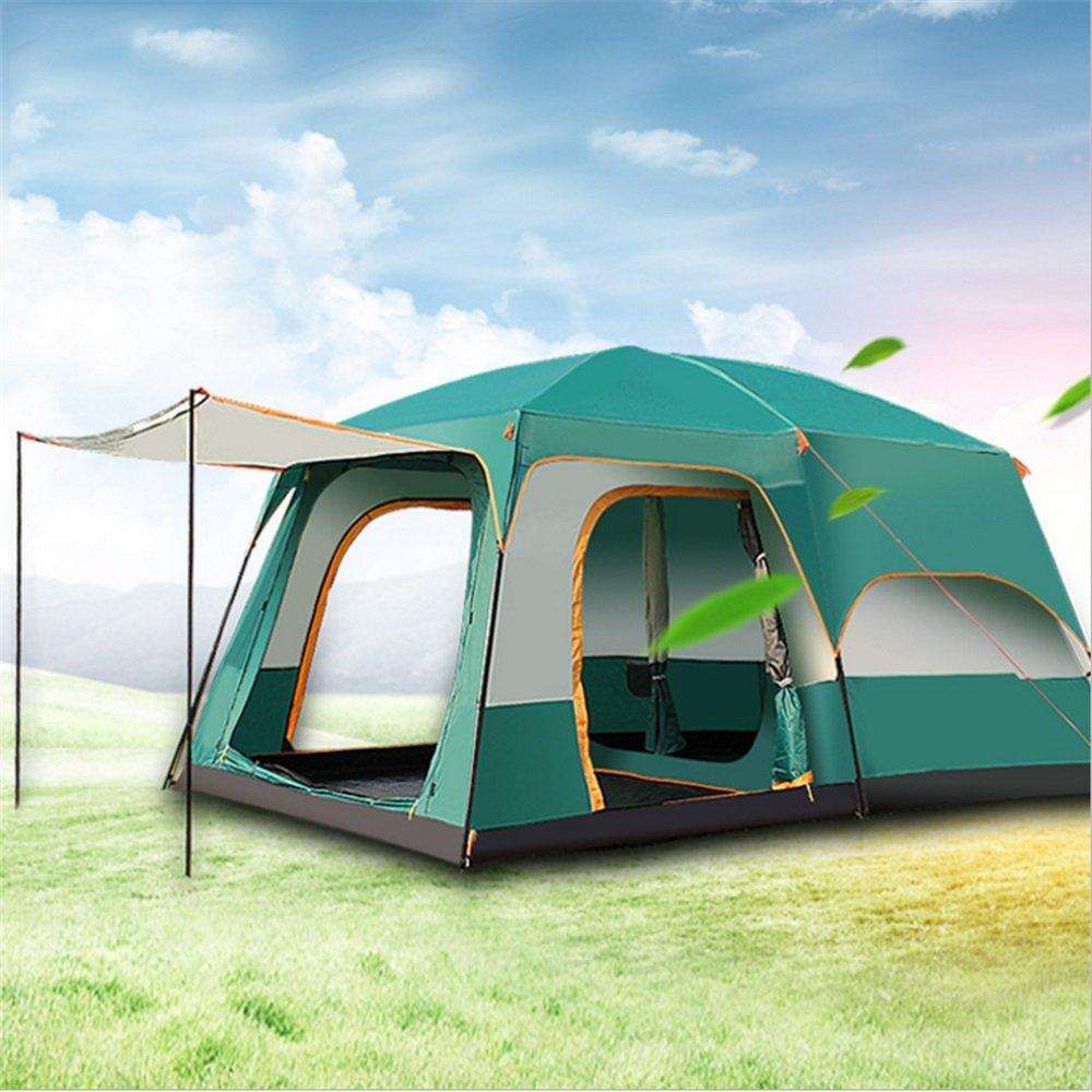 屋外2ベッドルームスチール自動テントキャンプ6-8-10-12人々グループビッグテント B07C1X13QQ B07C1X13QQ, モータースポーツインポート:04010ae9 --- ijpba.info