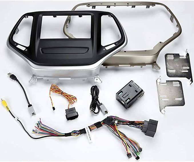 USB Box and T-Harness for 2014 and up Jeep Cherokee Maestro KIT-CHK1 Dash Kit
