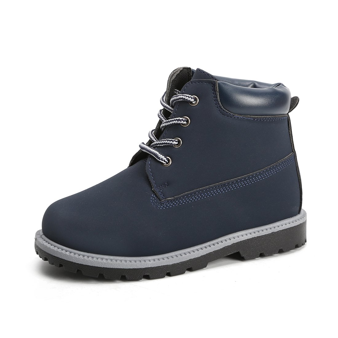 Hawkwell Kids Classic Ankle Boot(Toddler/Little Kid),Navy PU,7 M US