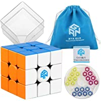 D-FantiX Gans 354 M 3x3 Speed Cube, Gans 354 M 3x3x3 Speed Cube Magic Cube Puzzles Black