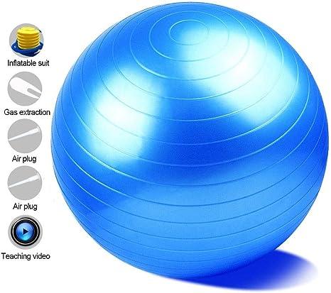 LB Pelota De Ejercicio Balón Pilates Anti-explosión con Bomba para ...