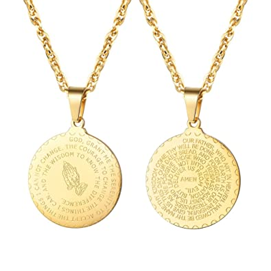 L&L® SAINT CHRISTOPHER Pendant Women Men Amulet Jewelry Necklace Nice UK Gift b7abTyAAnc