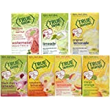 NEW FLAVORS: WATERMELON AQUA FRESCA and LIMEADE plus, Original Lemonade, Peach, Black Cherry, Raspberry and Mango Orange. True Citrus Assorted Beverage Pack: (7 boxes). NON GMO, GLUTEN FREE.