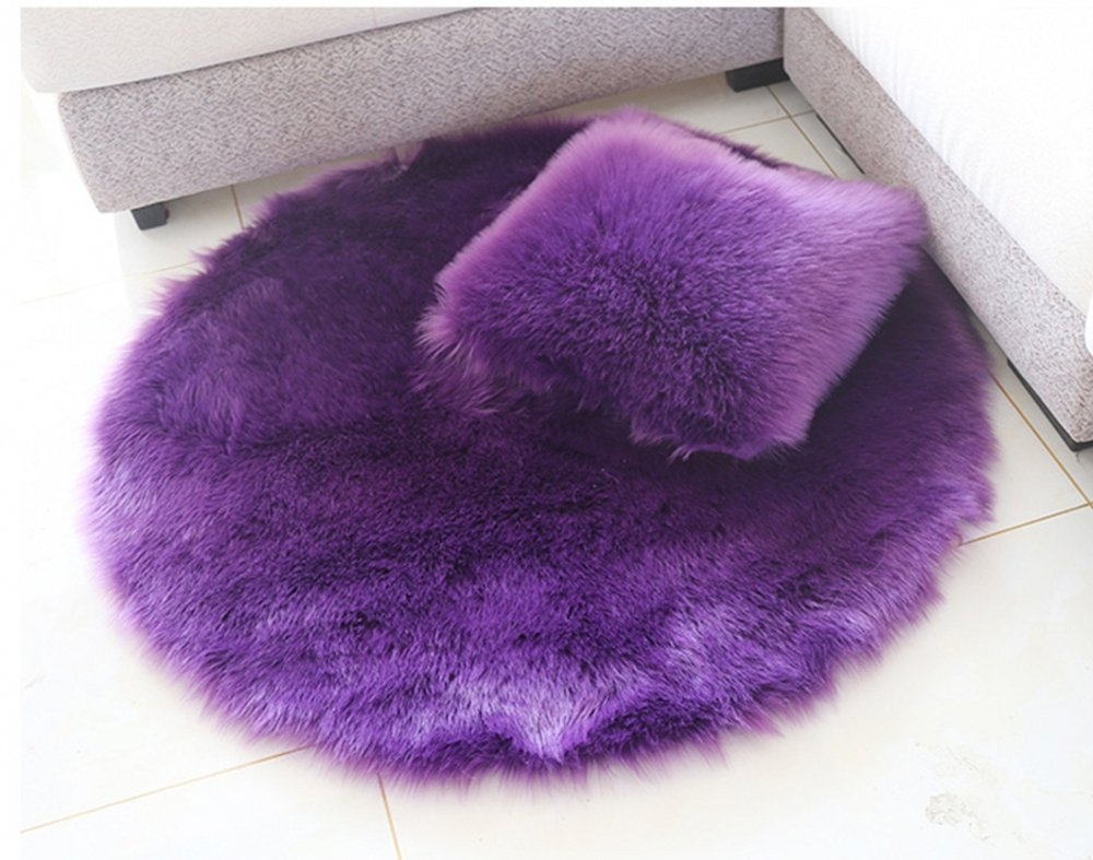 Sheepskin Area Rugs Super soft Fluffy Rectangle Carpet Floor Mats Home Decorative for Living Room Girls Bedrooms Meng Ge