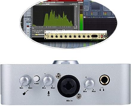 Dxyap Externo Tarjeta de Sonido USB, 3.5mm para Altavoces, para ...