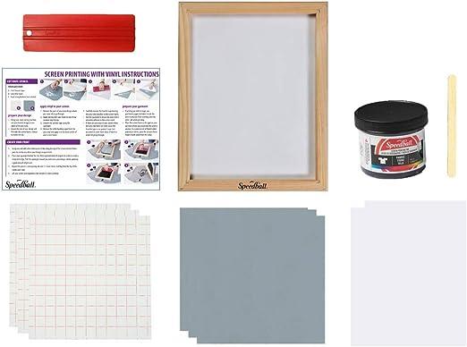 Speedball Beginner Screen Printing Craft Vinyl Kit E-Commerce Packaging